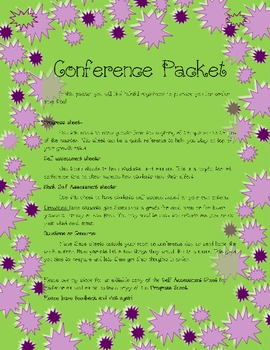 Conference Forms Packet