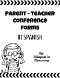 Conference Forms - Spanish