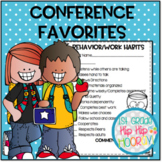 Parent Teacher  Conference Forms and Other Favorites!