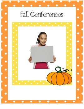 Conference Forms for Spring and Fall