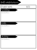 Conference Information Sheet