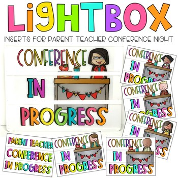 Conference Lightbox Inserts
