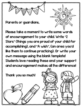 Parent Teacher Conferences Note to Child FREEBIE