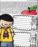 Parent Teacher Conferences Note to Child FREEBIE