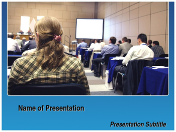 Conference PowerPoint Template