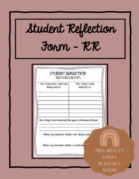Conference Reflection Form