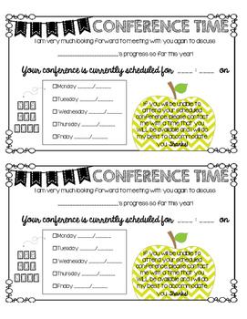 Conference Reminder 2