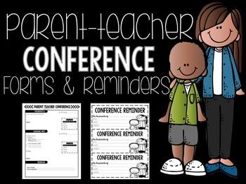 Conference Reminder Form & Data Sheet