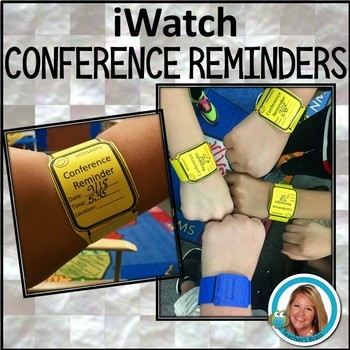 Conference Reminder Form on an iWATCH
