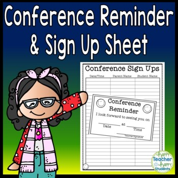Conference Reminder Note