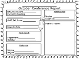 Conference Report Template Editable