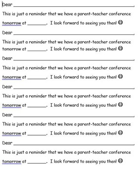 Conference Request Forms
