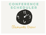 Conference Scheduler
