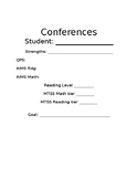 Conference Sheet
