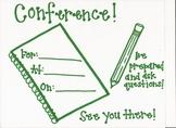 Conference Sheet/ Home Visit Form