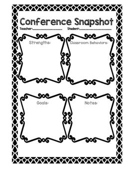 Conference Snapshot Printable