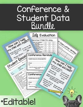Conference & Student Data Bundle [Editable]