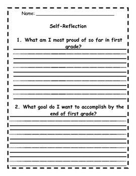 Conference Student Self-Reflection