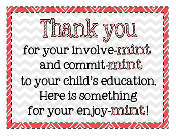 Declarative image throughout thank you for your commit mint free printable