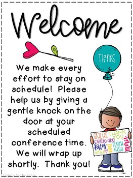 Conference Tools By Kristin Bertie Teachers Pay Teachers