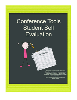 Conference Tools -Student Self Evaluation