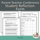 Student Reflection Questionnaire For Conferences