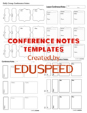 Conference notes sheet,