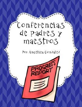 Conferencias para Padres y Maestro (Parent-Teacher Conferences SPANISH)