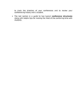 2nd Grade Reader's Workshop Conferencing Handbook