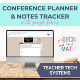 Conferencing Notes Tracker - Google Forms