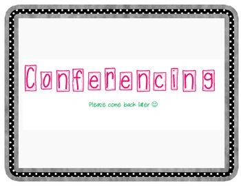 Conferencing Sign