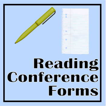 Conferring Form for Reader's Workshop (Customizable)