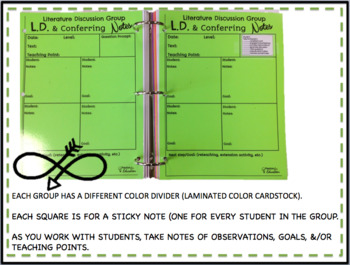 Conferring Made Easy!! (FREE) Conferring, Guided Reading, & Lit. Groups!!