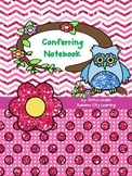 Conferring Notebook: Chevron Dot Theme