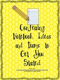 Conferring Notebook Ideas & Forms To Get You Started