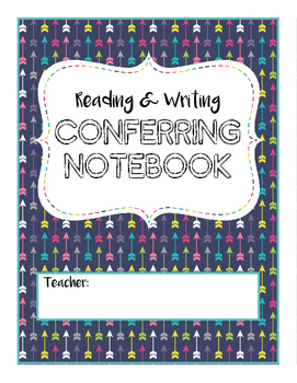 Conferring Notebook for Reading and Writing Workshop