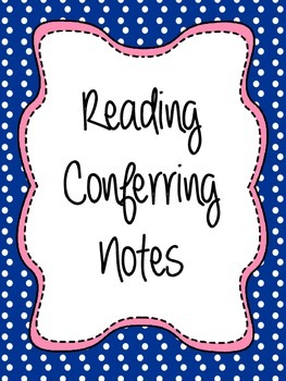 Conferring Notes Cover Pages