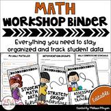 Data Tracking Workshop Organizer: Math Teacher Binder (Sti