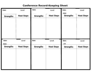 Conferring Sheet