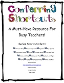 Conferring Shortcuts Series 1 {A Must-Have Resource for Bu