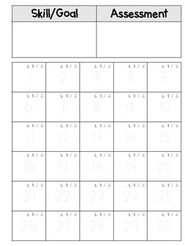 Conferring Tracker Sheets
