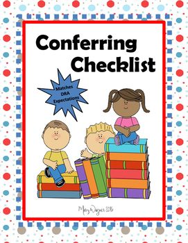 Conferring and Reading Ability Checklist