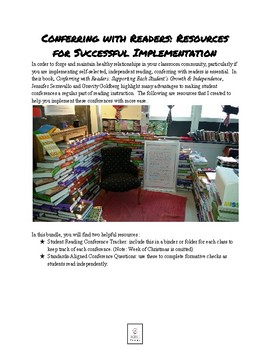 Conferring with Readers Resource Pack