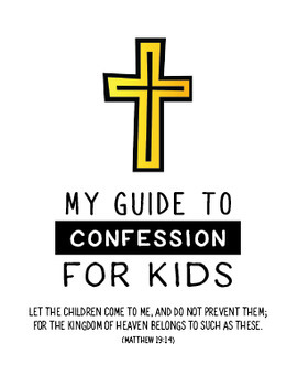 photo about Printable Guide known as Confession Consultant for Small children - Printable mini guide