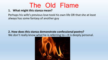 Confessional Poetry: Analysis of Robert Lowell's poems/ PowerPoint