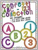 Confetti ABC - 123 Collection