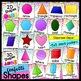 Confetti ABC and Shape Bundle- Classroom Decor