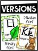 Confetti Alphabet Posters - Confetti Decor
