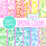 Confetti Backgrounds 2 : Digital Papers / Patterns for Commercial Use
