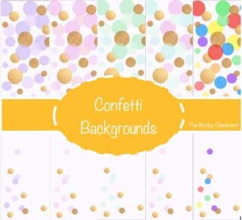 Confetti Backgrounds